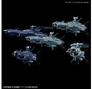 BANDAI MODEL KITS #08 U.N.C.F. Andromeda Class Set