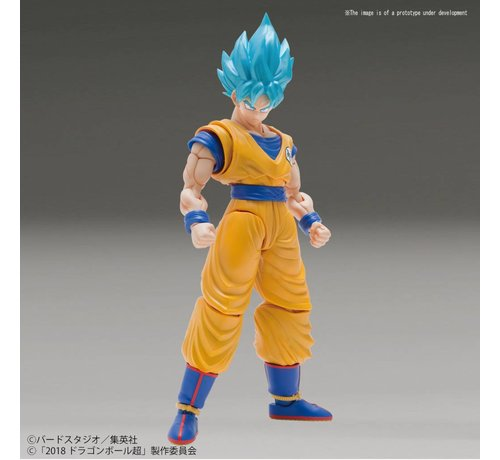 "BANDAI MODEL KITS 5055592 SSGSS Goku (Special Color Ver.) ""Dragon Ball Super"", Bandai Figure-rise Standard"