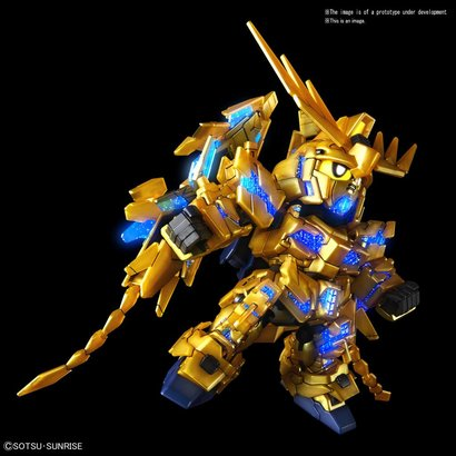 "BANDAI MODEL KITS 5055578 #7 Unicorn Gundam 03 Phenex ""Gundam NT"" Bandai SDGCS"