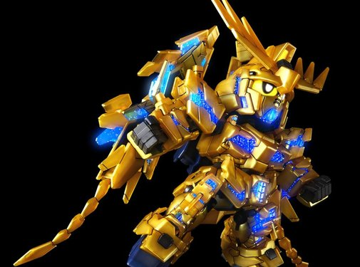 BANDAI MODEL KITS #7 Unicorn Gundam 03 Phenex SDGCS