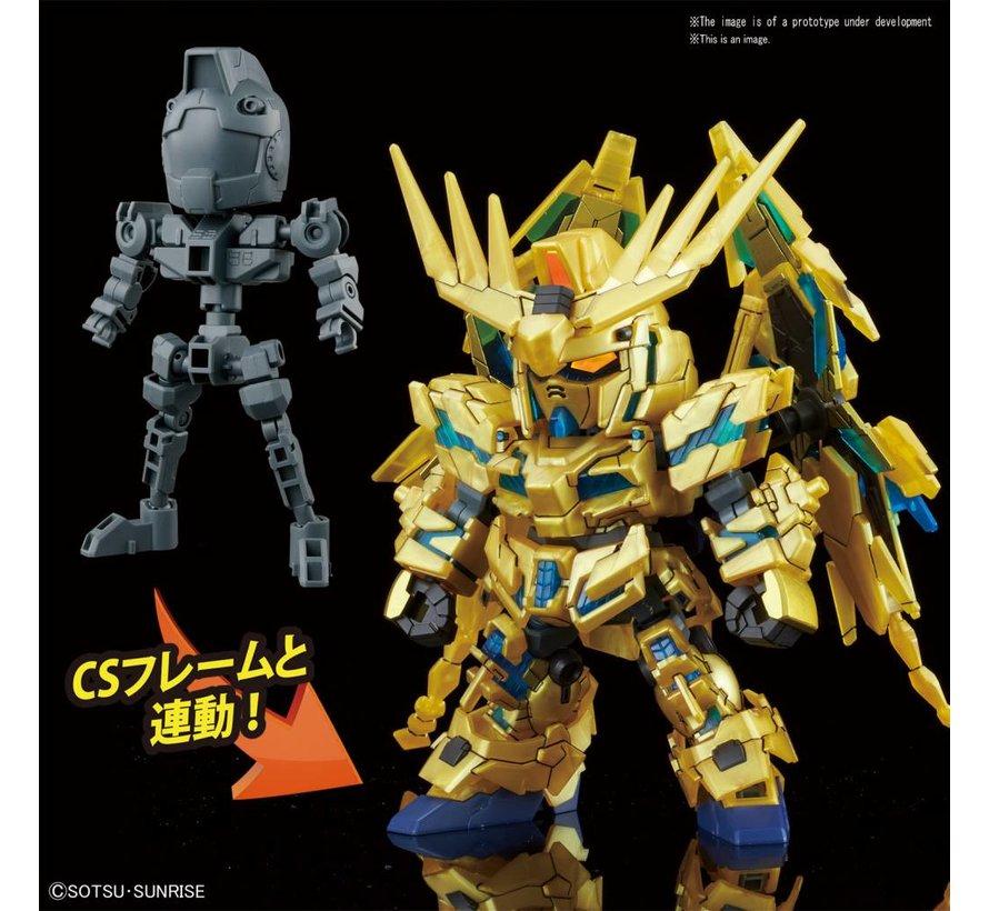 """5055578 #7 Unicorn Gundam 03 Phenex """"Gundam NT"""" Bandai SDGCS"""