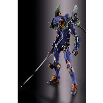 "Tamashii Nations 55040 EVA-01 Test Type ""Neon Genesis Evangelion"", Bandai Metal Build"