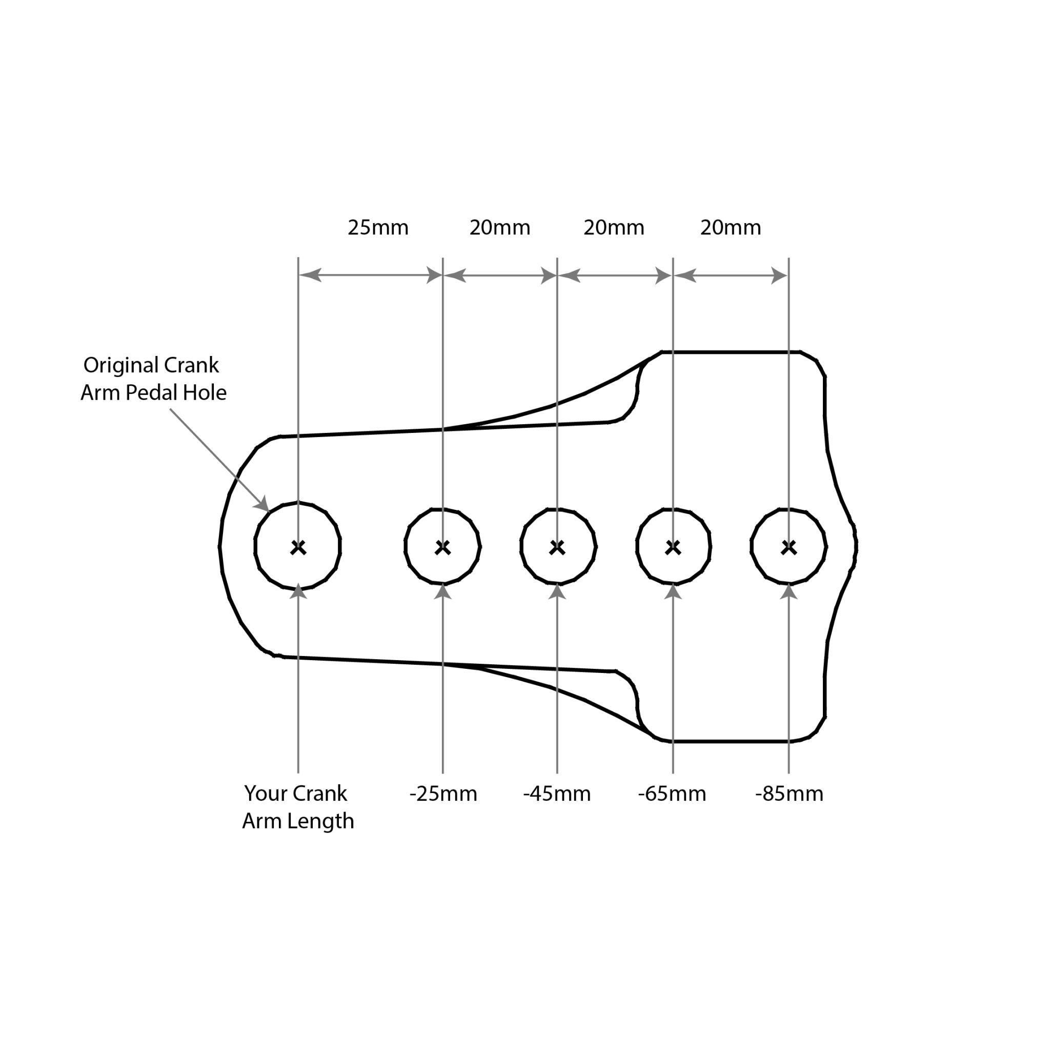 TerraCycle Easy Knees Crank Shortener