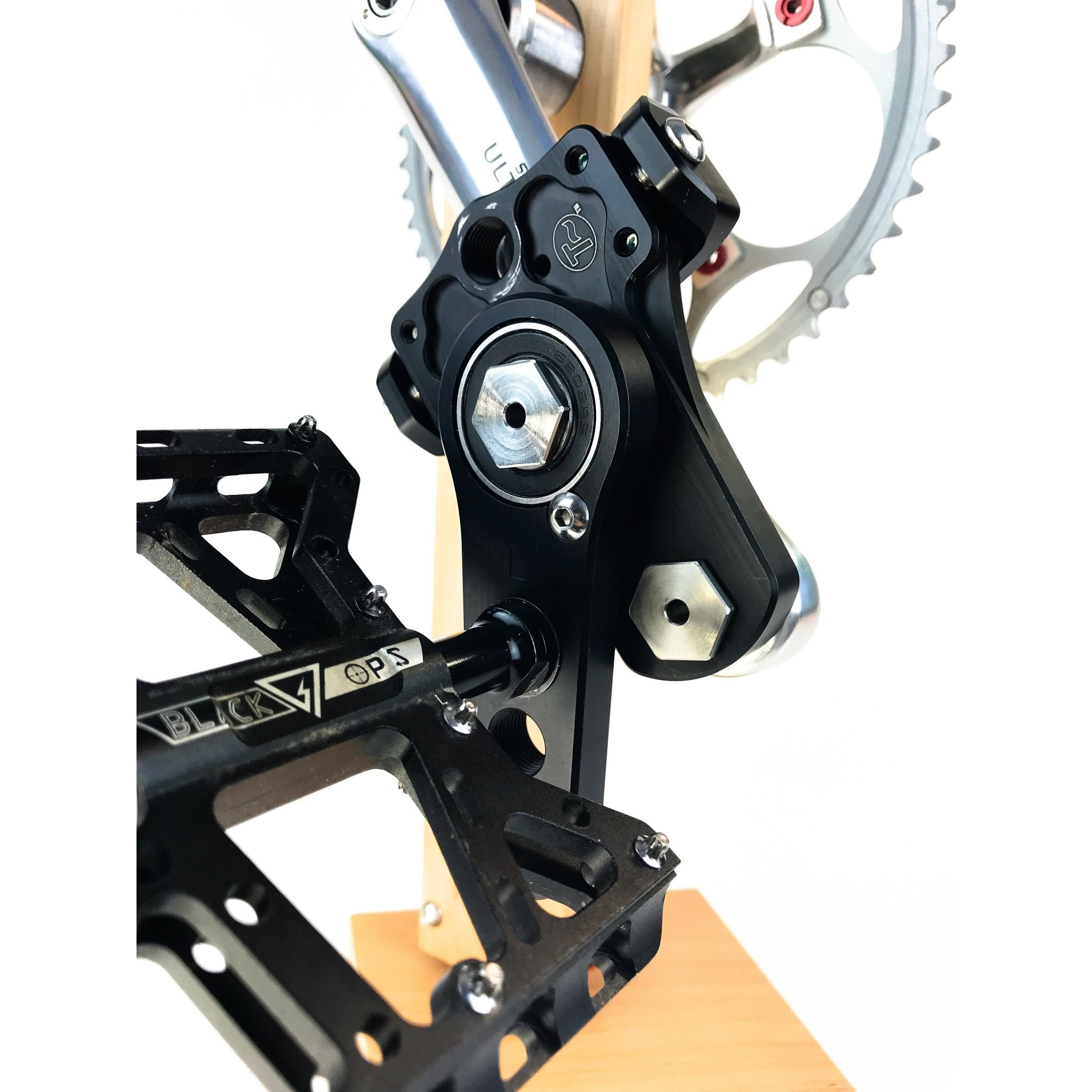 Easy Knees Pedal Swing and Crank Shortener Kit (one sided)
