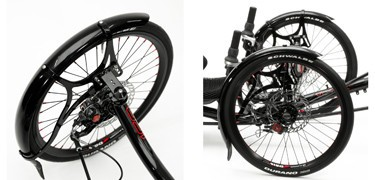 "ICE ICE 20"" Mudguard Set"