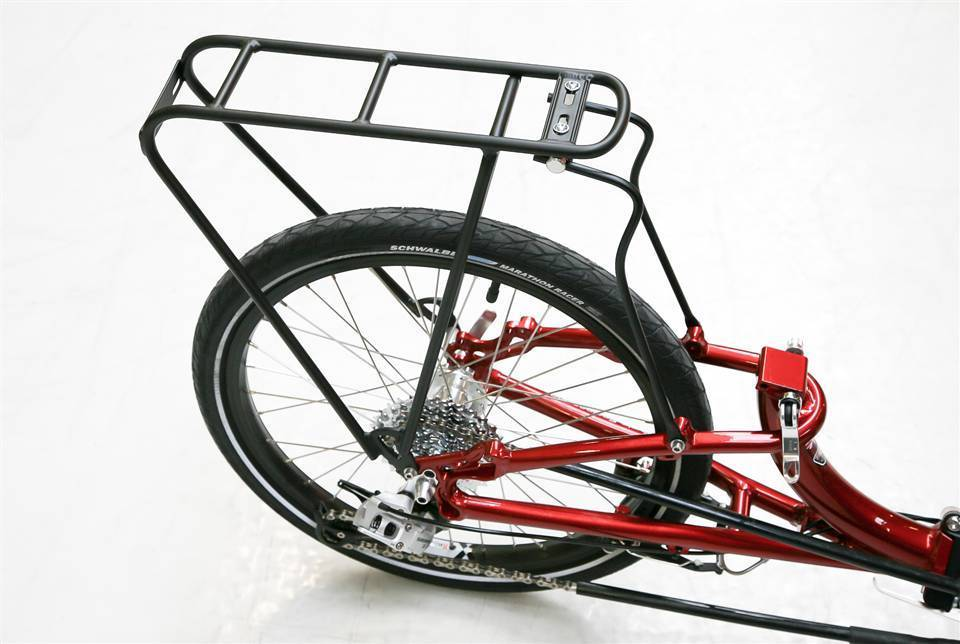 "ICE ICE 20"" Rigid Rear Rack"