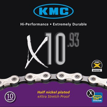 KMC X10.93: 10 speed Chain; 116 Links