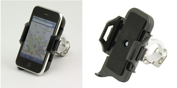 Minoura iH400 - OS Smart Phone OS Handlebar Holder: Fits 27.2 - 35mm