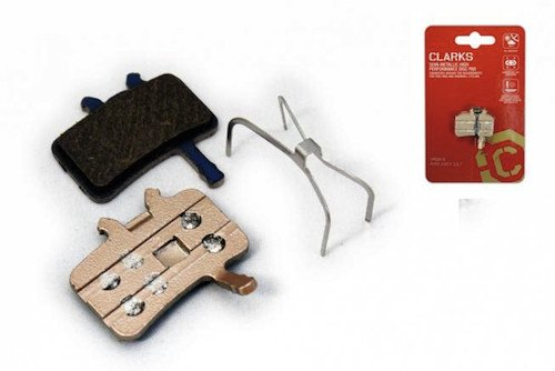 Clarks Gold Kevlar Disc Brake Replacement Pads