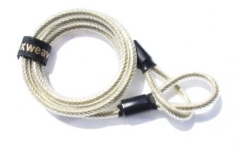 Flexweave locking cable, 7 feet