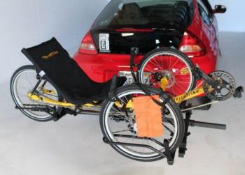 Hollywood Hollywood HRT1000 Recumbent Trike Car Rack