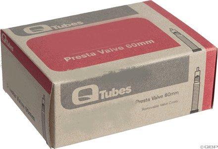 """Q-Tubes 20"""" x 1-1/8 - 1-3/8"""" (41 x 28)  60mm Presta Valve Tube"""