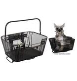 Sunlite Rack Top / Handlebar Mount Basket, Dog and/or Shopping