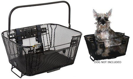 Sunlite Rack Top / Handlebar Mount Basket, Dog and/or Shopping