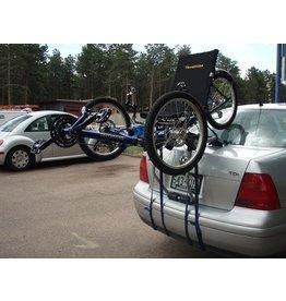 Thule 911XT Passage 3 Trunk Rack: 3-Bike