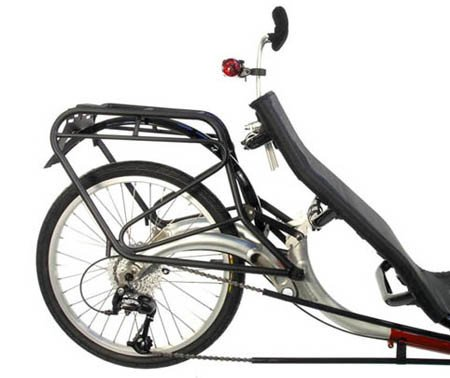 ICE Ice Q or T Rear Touring Rack