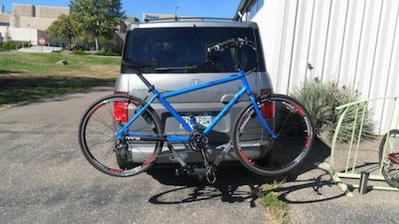 Let's Go Aero V2 CycleDifferent Bike Rack