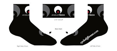 "Angletech ""Cycle Different"" socks"