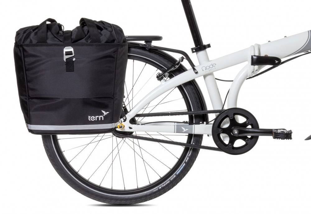 Tern Tern Big Mouth Pannier, Black