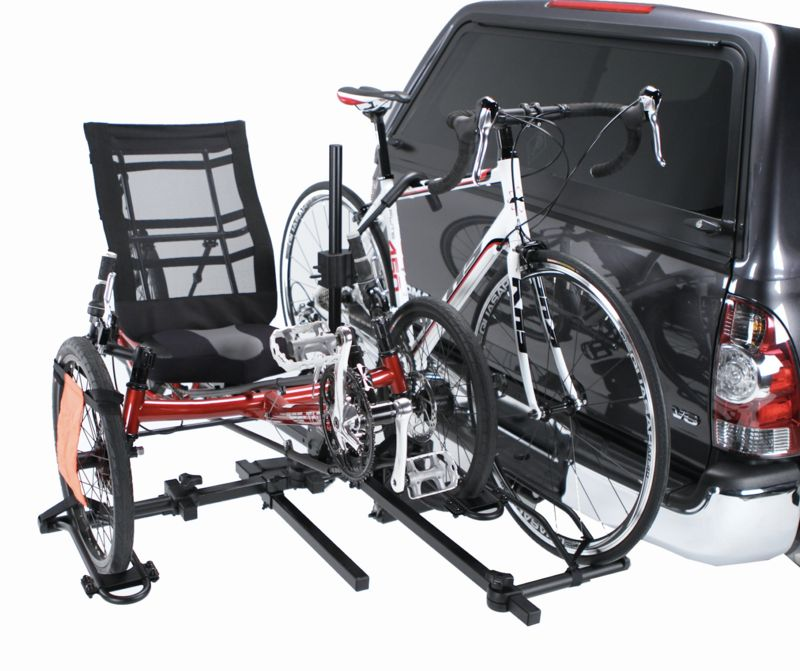 Hollywood Hollywood Trike & Bike Hitch Rack - Sport Rider SE  w/ Trike Adapter