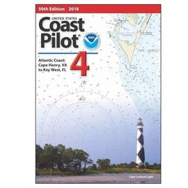 NOS Coast Pilot 4: 53E/2021 (NEW EDITION) Atlantic Coast, Cape Henry, VA to Key West, FL