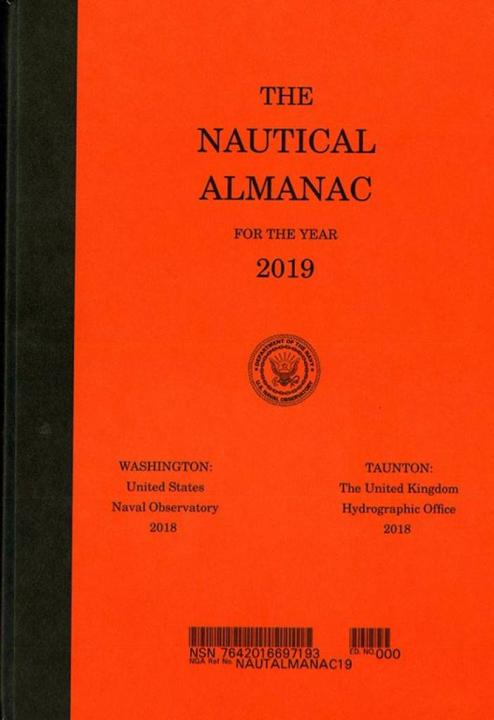 Nautical Almanac 2019