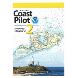 NOS Coast Pilot 2: 51ED/2022 - (NEW EDITION) Atlantic Coast: Cape Cod, MA to Sandy Hook, NJ