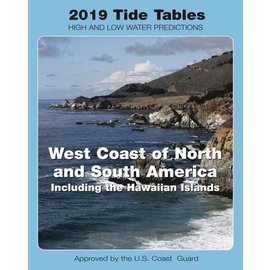 NOS Tide Tables 2019 West Coast North & South America