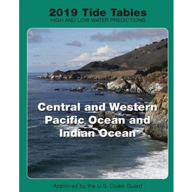 NOS Tide Tables 2019 Central & Western Pacific & Indian Oceans