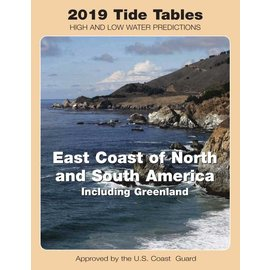 NOS Tide Tables 2019 East Coast North & South America