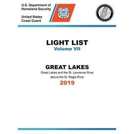 GPO USCG Light List 7 2019 Great Lakes