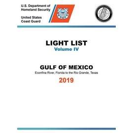 GPO USCG Light List 4 2019 Gulf of Mexico