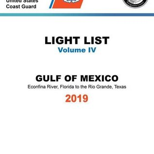 GPO USCG Light List 4 2019 Gulf of Mexico
