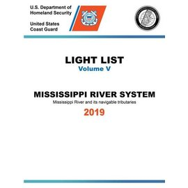 GPO USCG Light List 5 2019 Mississippi River System