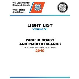 GPO USCG Light List 6 2019 Pacific Coast and Pacific Islands