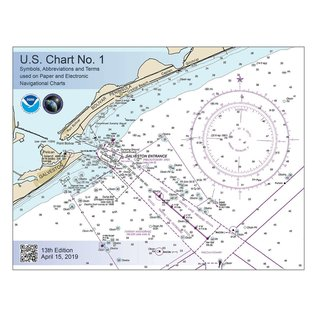 OGF U.S. Chart No. 1: Symbols, Abbreviations and Terms used on Paper and Electronic Navigational Charts, 13E 2019