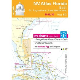 NV Charts  Region 8.2 Florida East, St. Augustine to Lake Worth Inlet 2016/17