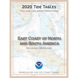 NOS Tide Tables 2020 East Coast North & South America