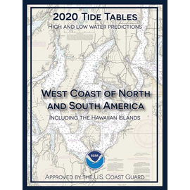 NOS Tide Tables 2020 West Coast North & South America