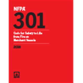 NFB NFPA 301  Code for Safety to Life from Fire on Merchant Vessels (Digital) 2018