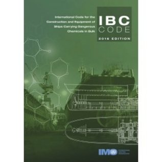 IMO International Code for the Construction and Equipment of Ships Carrying Dangerous Chemicals in Bulk (IBC Code), 2016 Edition