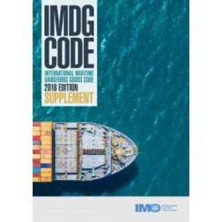IMDG Code Supplement, 2018 (IJ210E) (eReader)