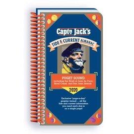 PRC Capt'n Jack's Tide & Current Almanac - Puget Sound 2020