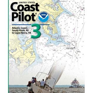 NOS Coast Pilot 3 54ED/2021 Atlantic Coast: Sandy Hook to Cape Henry