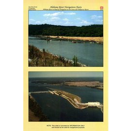 COE Alabama River Navigational Chartbook