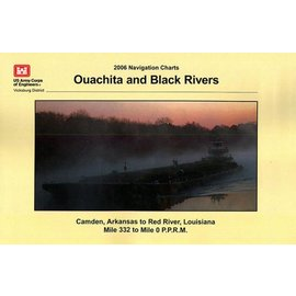 COE Ouachita and Black Rivers Charts Corps of Engineers 2006