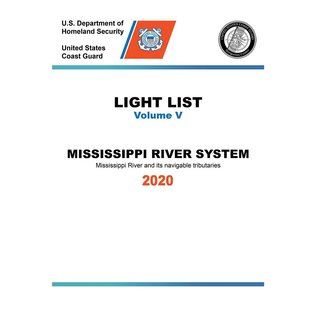 GPO USCG Light List 5 2020 Mississippi River System