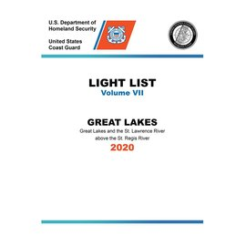 GPO USCG Light List 7 2020 Great Lakes