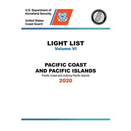 GPO USCG Light List 6 2020 Pacific Coast and Pacific Islands