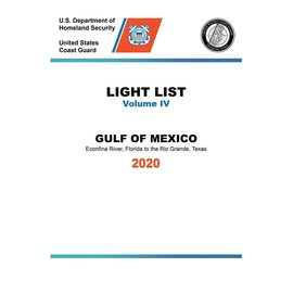 GPO USCG Light List 4 2020 Gulf of Mexico
